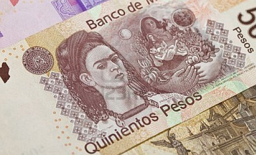 Frida Mexican money