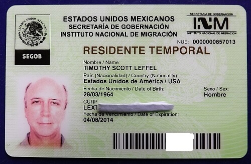 Mexican residency visa