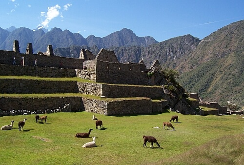 Entrance fee Machu PIcchu Peru
