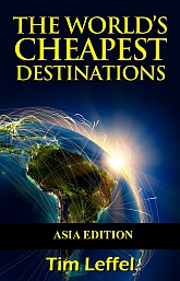 cheapest travel destinations in Asia