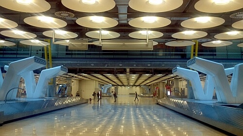 Madrid's baggage claim