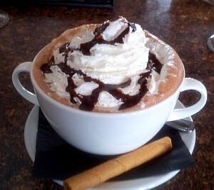 hot chocolate ski resort
