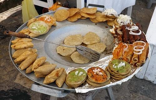 Puebla street food