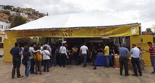 Guaajuato beer festival