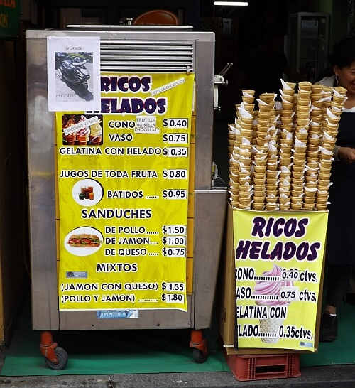 Ecuador prices
