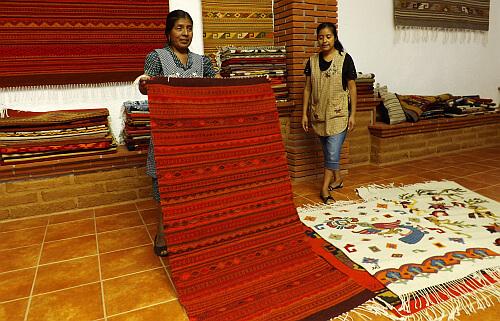 Oaxacan carpets