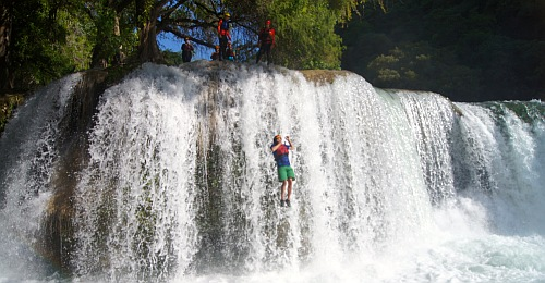 Huaxteca waterfall
