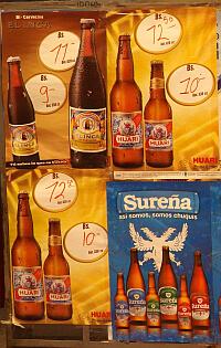 Bolivian beer