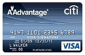 airline rewards card