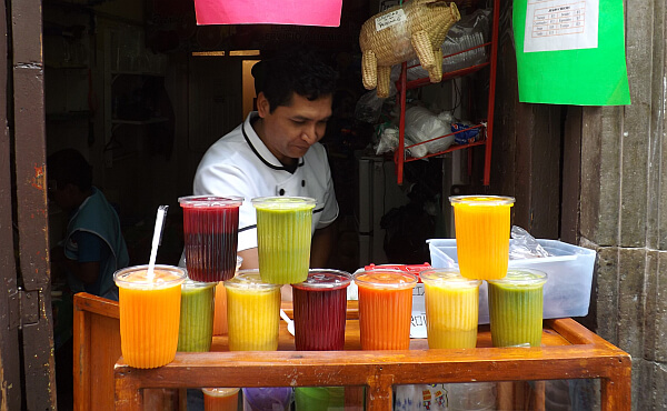 healthy juice for $1 in Mexico