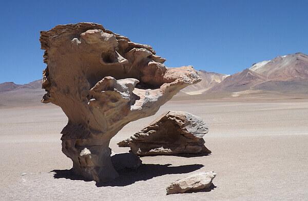 Bolivia desert travel