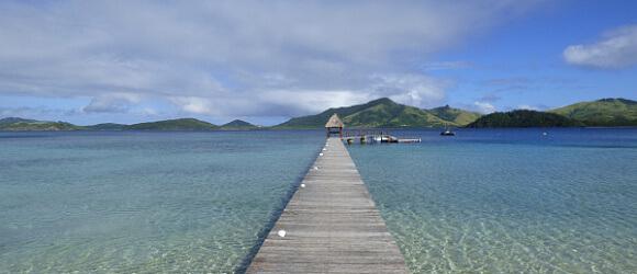 Fiji dock