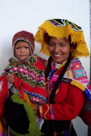 Peru mother