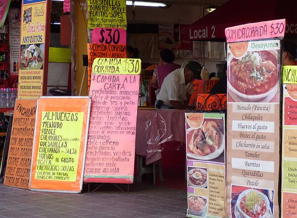 Hidalgo Market meals