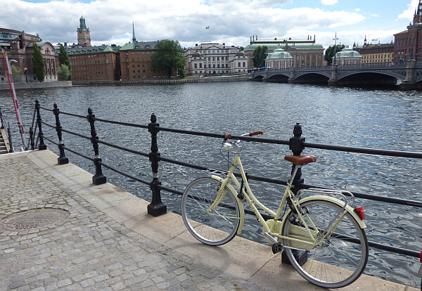 Stockholm waterfront old city