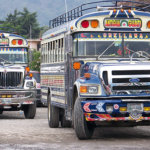 bus travel Central America