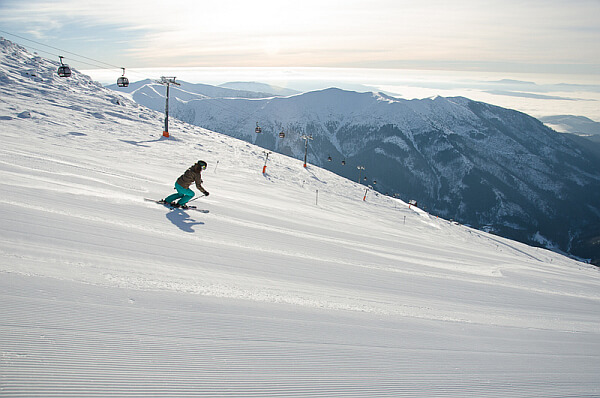 ski cheap in Slovakia at Jasna