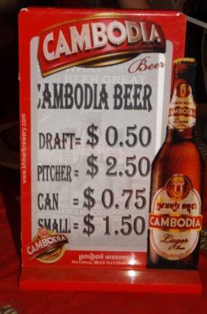 cheap travel prices Cambodia