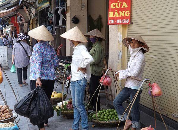 prices in old Hanoi Vietam