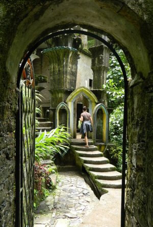 Exploring Las Pozas in San Luis Potosi state of Mexico