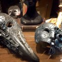 steampunk masks in Venice