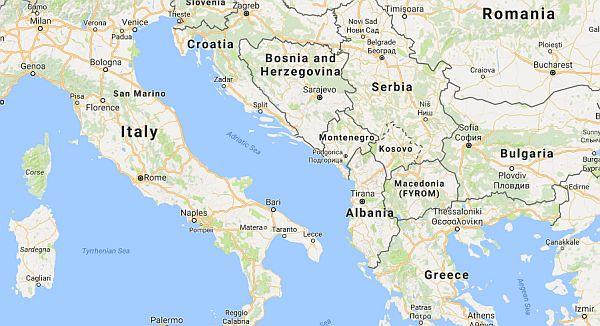 living in Albania