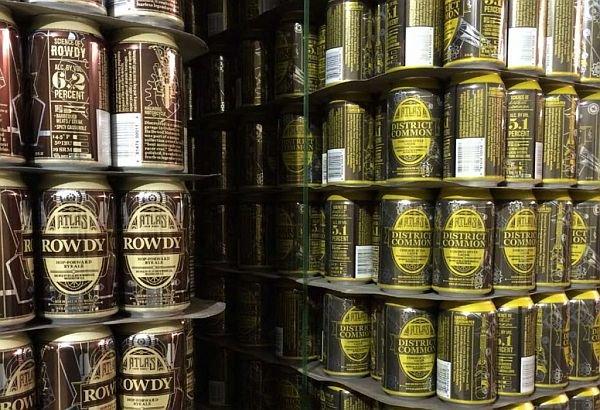 Atlast Beer Works cans