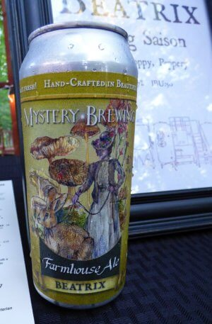 Mystery Brewing beer can