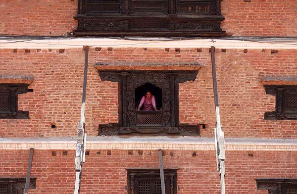 Bhaktapur Nepal 55 windows palace natinoal art gallery