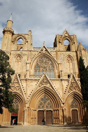 NorthernCyprus cathedral to mosque