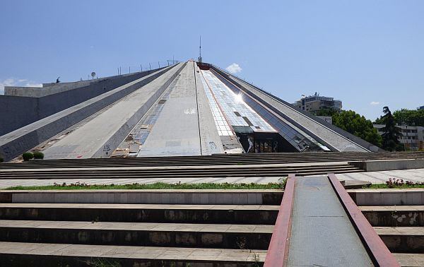 Tirana pyramid Albania