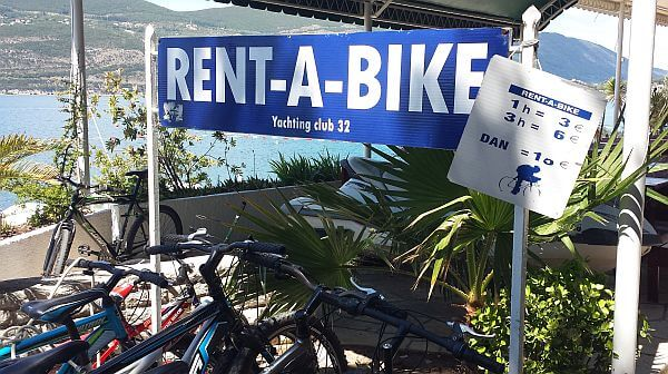 bike rental Kotor Montenegro