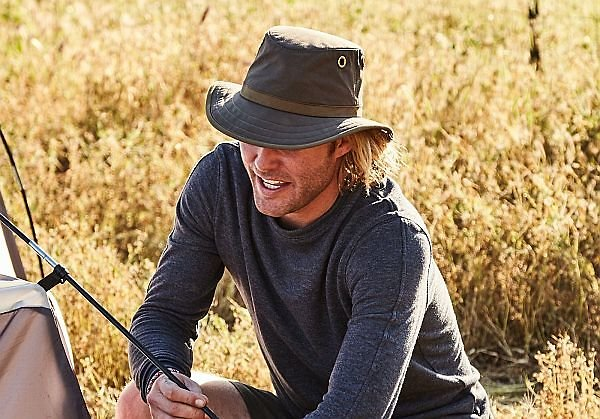 Tilley Outback waxed hat