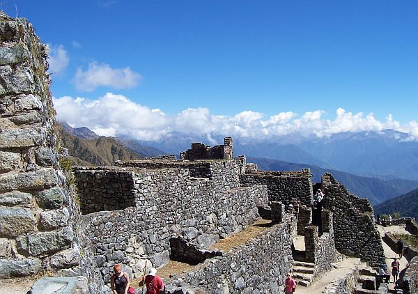 Ruins along the Inca Trail of Peru