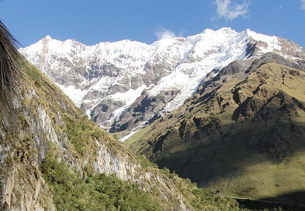 Scenery on the Salkantay Trek of Peru