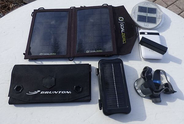 solar power gadgets for traveling