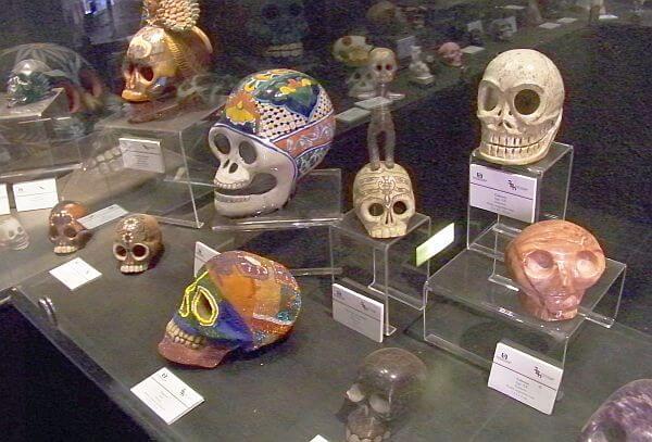 museum of death historic skulls