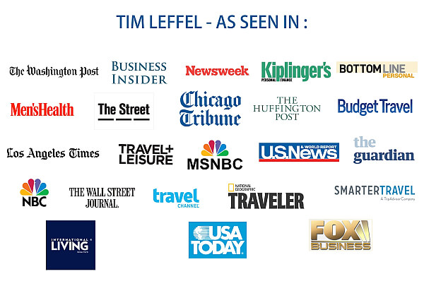 Tim Leffel media appearances