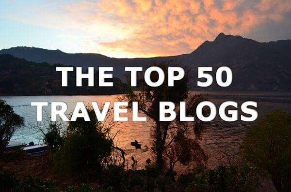 one of 50 most popular travel blogs
