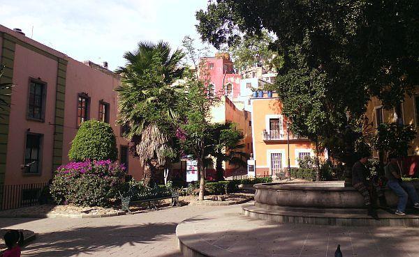 Guanajuato Mexico plaza