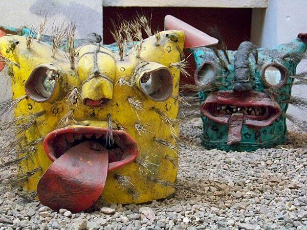 mask museum in Zacatecas Mexico