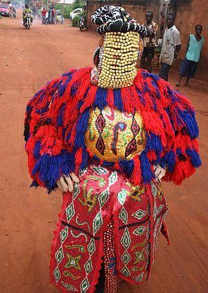 dancer in Benin
