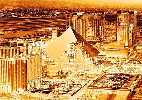 Las Vegas glitters
