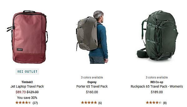 cabd493c907e The Best Backpacks for Long-term Travelers