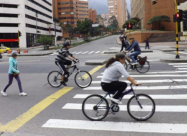 Visit big cities on a Sunday for car free zones when biking and for free entertainment