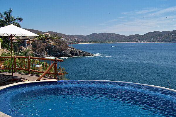 Zihuatanejo house in Mexico