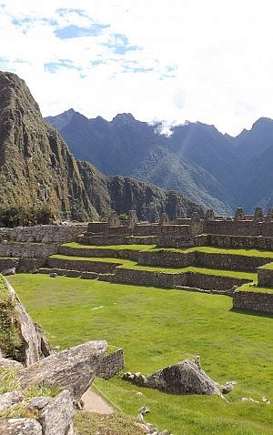 On your trip around the world, set aside money for splurges that go beyond your daily travel budget, like for Machu Picchu