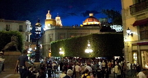 Guanajuato city center