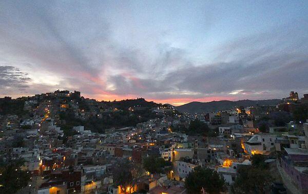 Guanajuato sundown