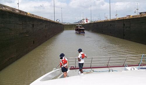 canal transit Panama